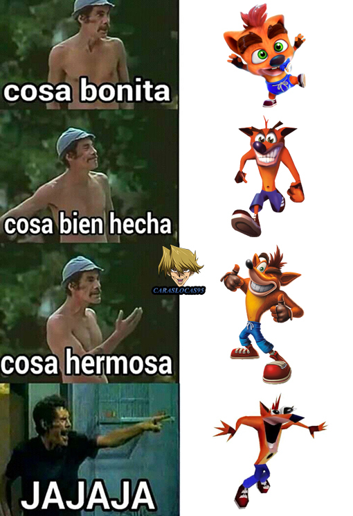 Crash Bandicoot - meme