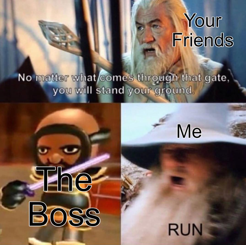 THE BOSS - meme