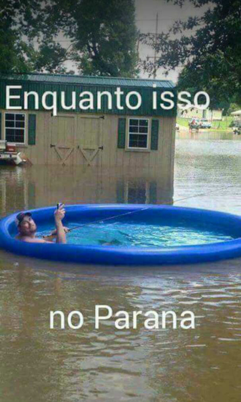 Só no Paraná - meme