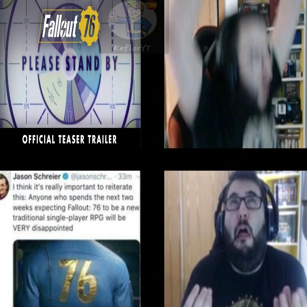 Que opináis vosotros del nuevo Fallout 76? - meme