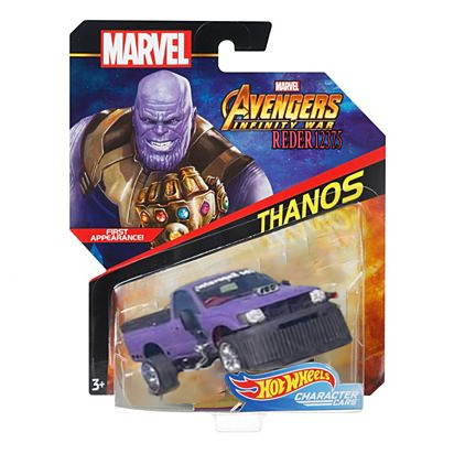 thanos car hotweels - meme