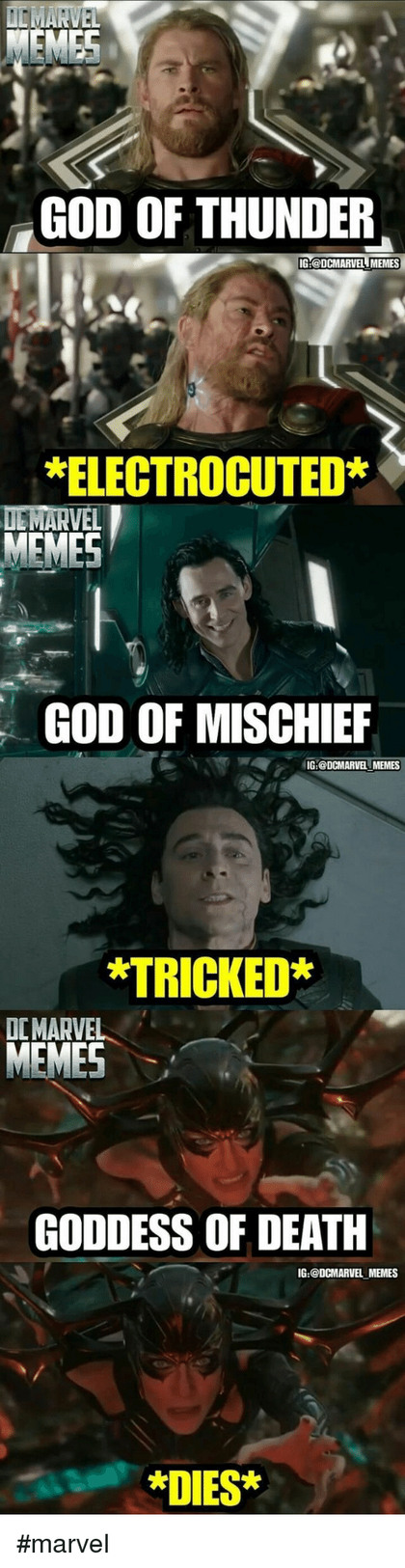 Marvel Mistakes - meme