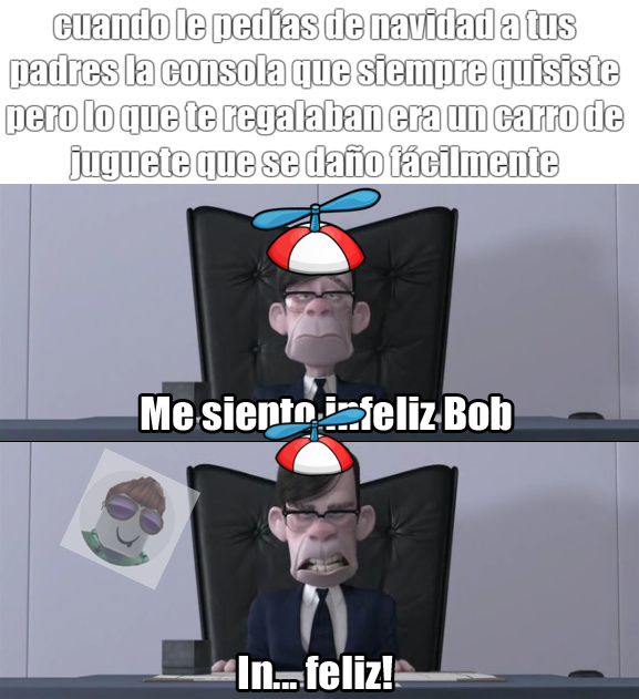 infeliz : happy : - meme