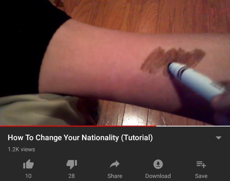 Cómo cambiar tu nacionalidad - meme
