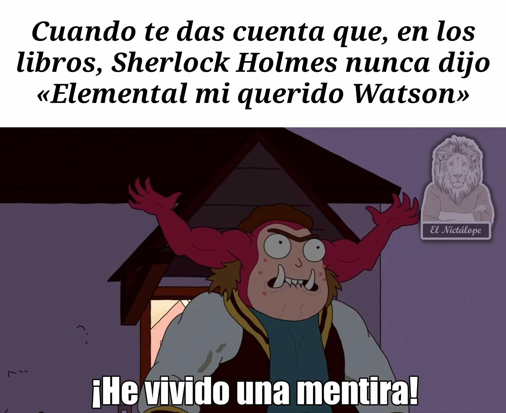 Sherlock - meme