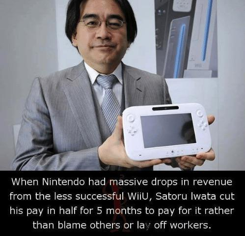 Good guy CEO man. I wonder how much he was paid. - meme