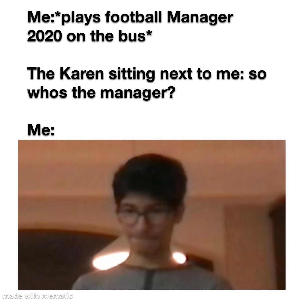 that's actually me btw - meme