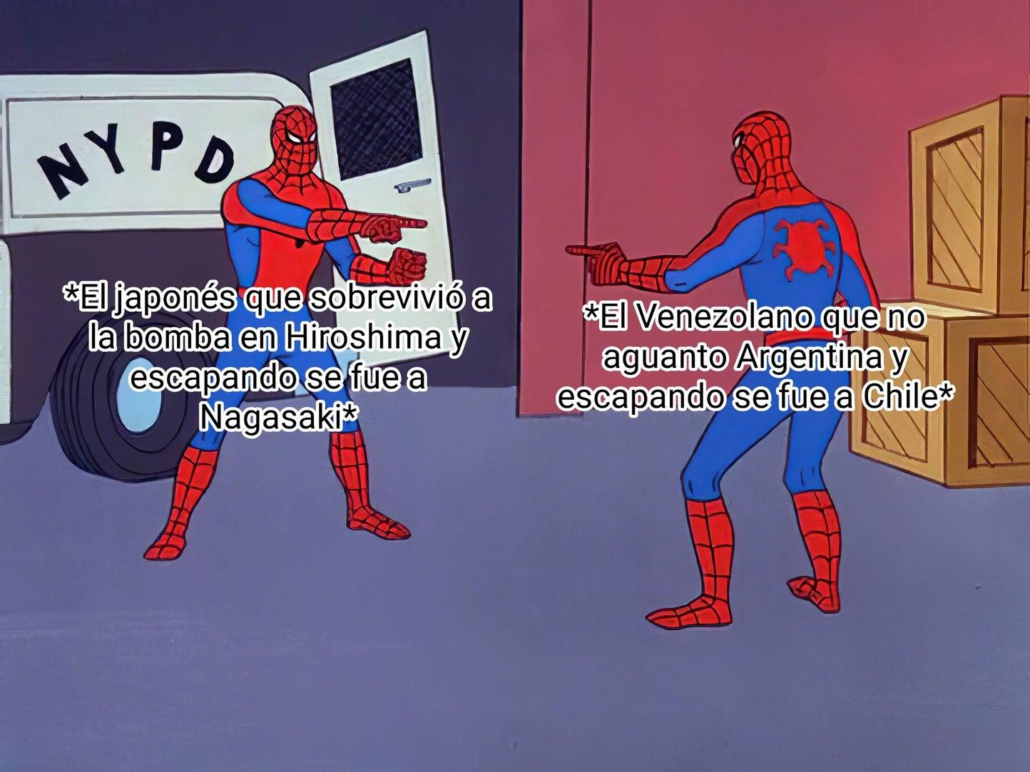Uff con ir a Argentina era suficiente - meme