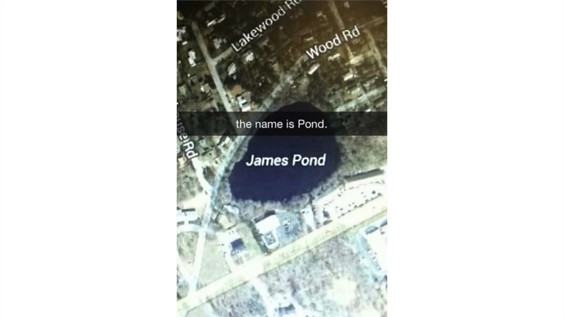 James pond - meme