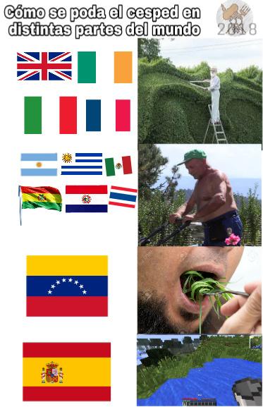 Soy mitad español asi que... - meme