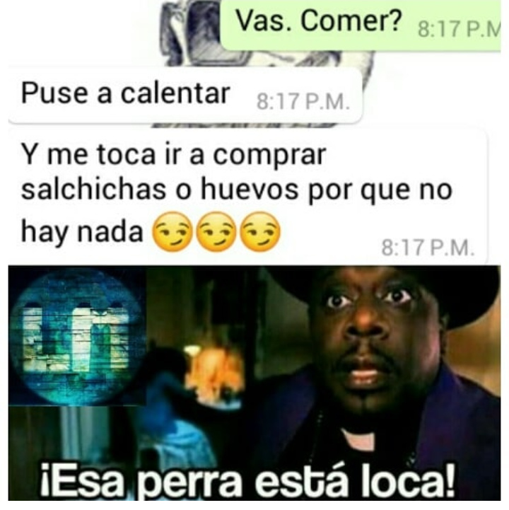 Doña calmese :v - meme