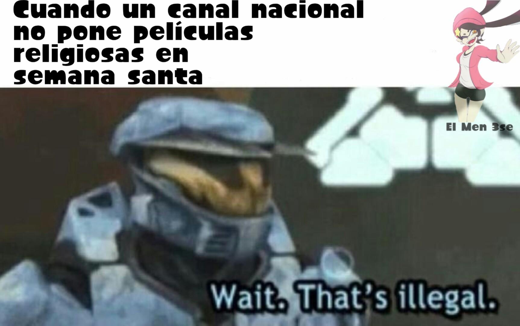 Creo que es tradición de los canales nacionales - meme
