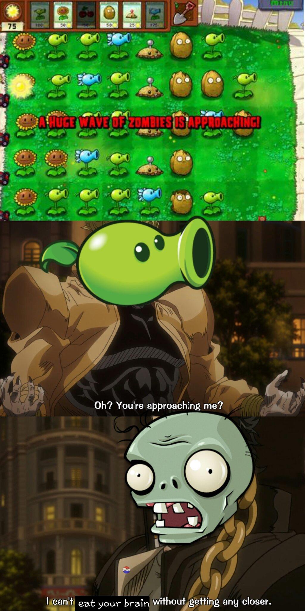 Este es el ultimo meme de jotos y pvz que subo lo prometo