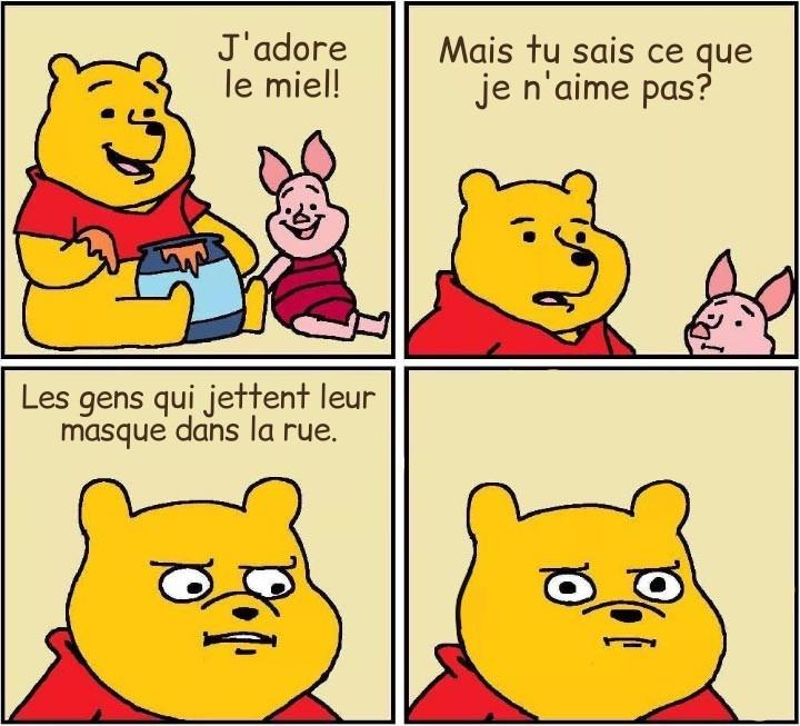 Winnie dit la vérité - meme