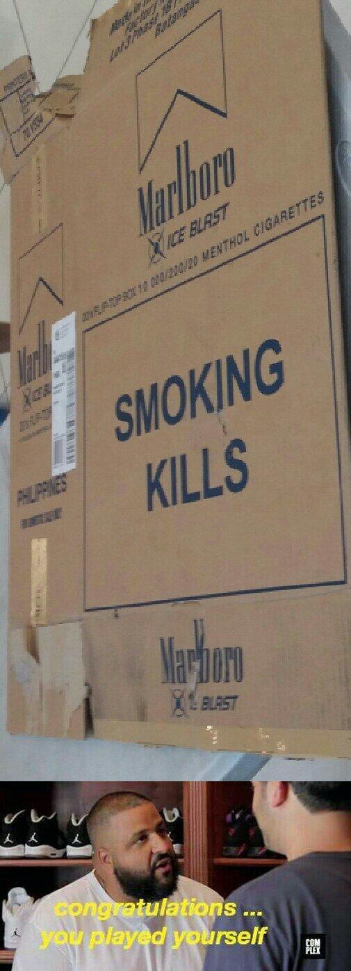 Cigarette companies - meme