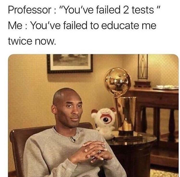 Take it professor - meme