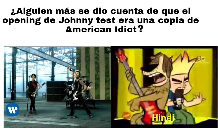 You wanna be an American idiooot - meme