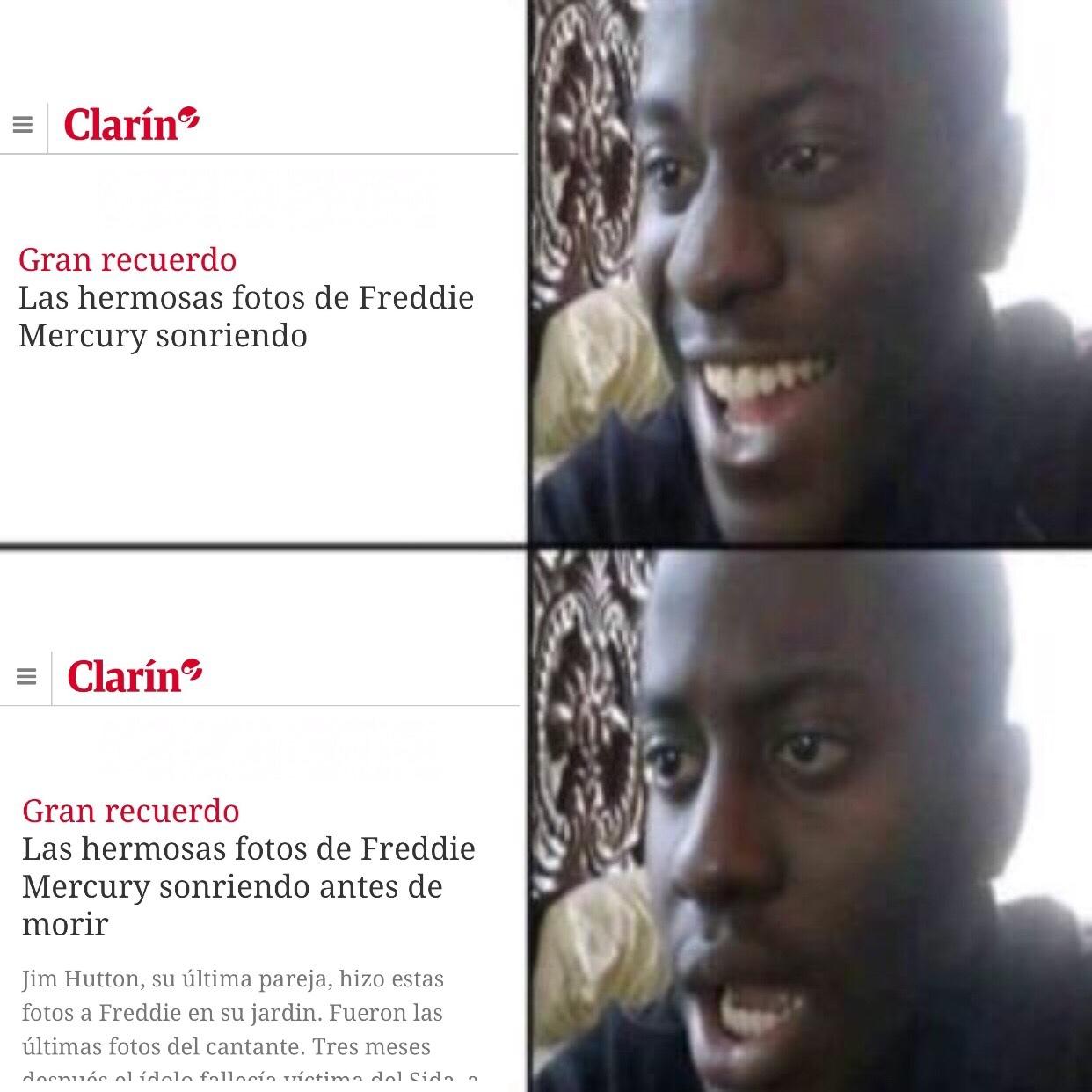 Diario Clarín - meme