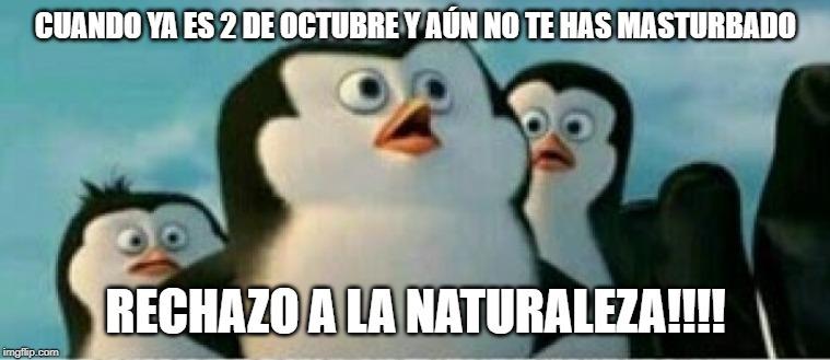 Feliz fin del septiembre sin fap - meme