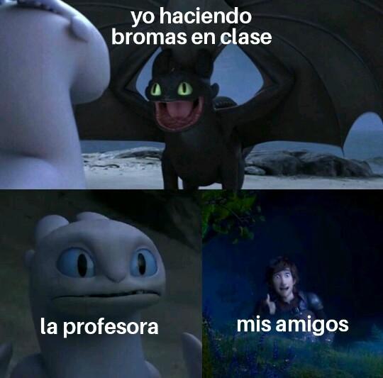Colegio - meme