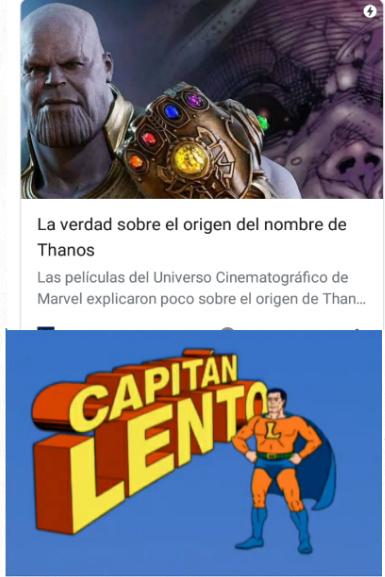 El que haya leido wikipedia sabe que Thanos es un derivado de Thanatos. - meme