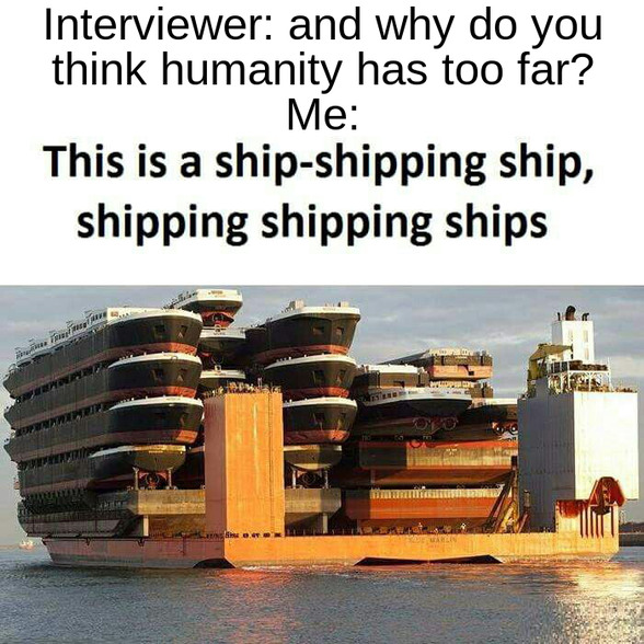 """I once wrote an entire paragraph about these. Mostly using forms of the word """"ship"""". twas splendid. - meme"""