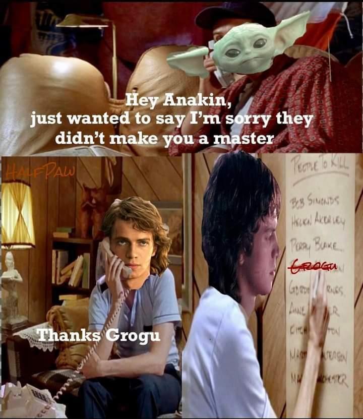 Anakin did nothing wrong - meme