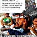 Malditasea Maduro entiende que si dejas de robar plata podrías vacunar aunque sea a la Capital