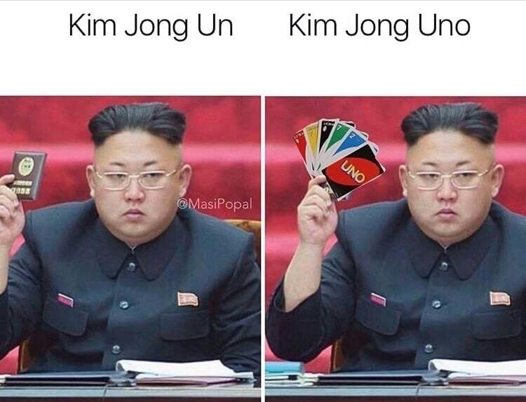 kim Jong Uno - meme