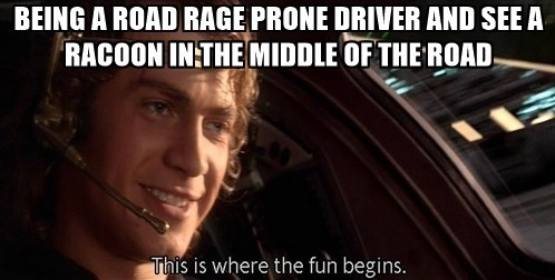 The car is strong with the force. - meme