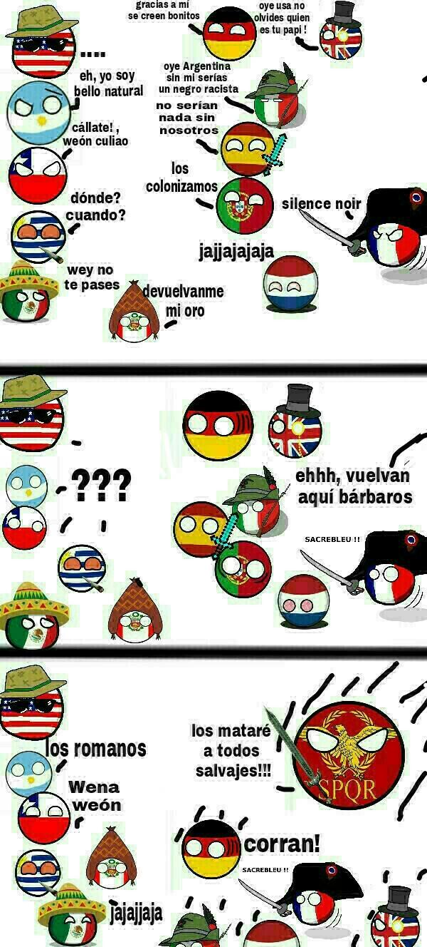 Roma el terror de los europeos - meme