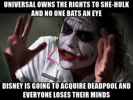 Am I alone in wanting a she-hulk movie? - meme