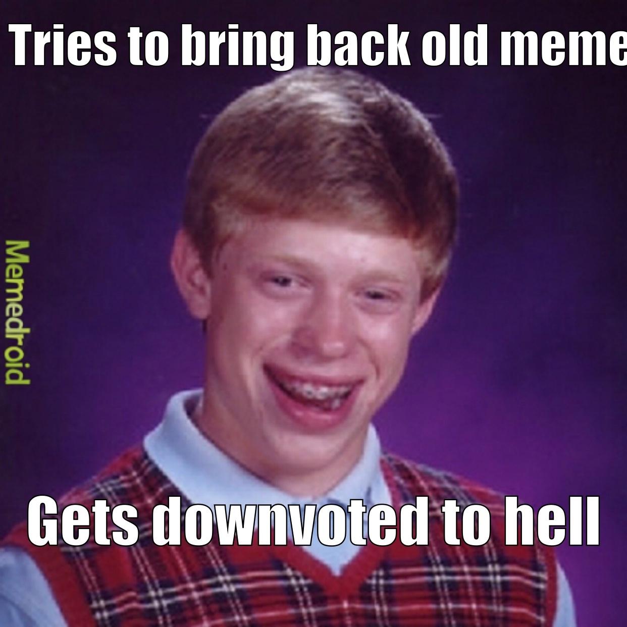 plz don't - meme
