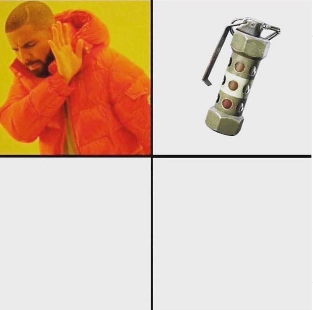Me tapo la granada el meme