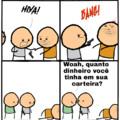 Tirinha traduzida pra galera do MMD