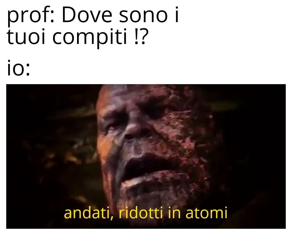 Tipica scusa - meme