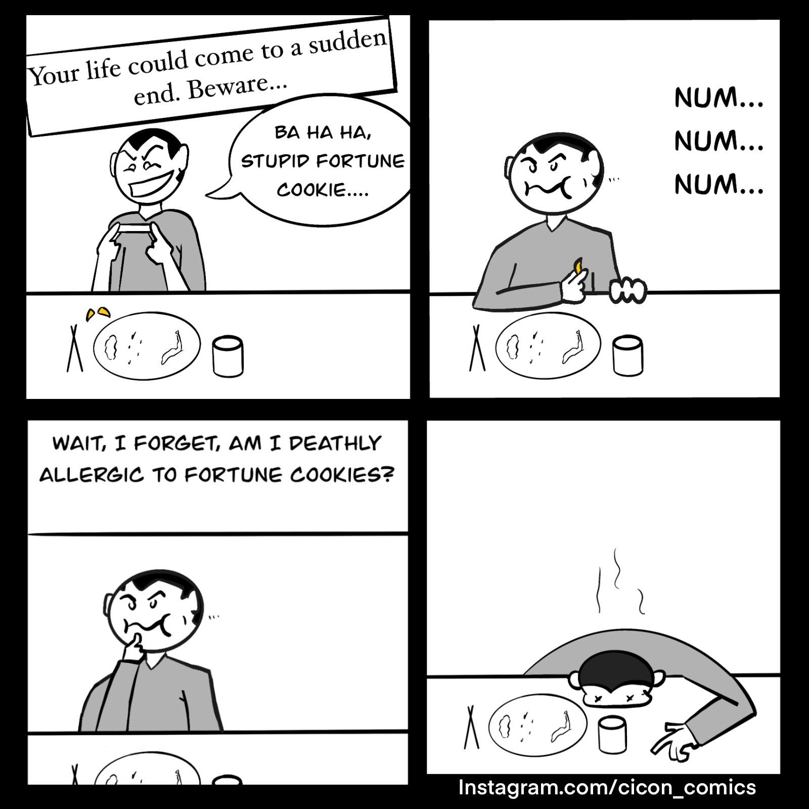 fortune cookie - meme