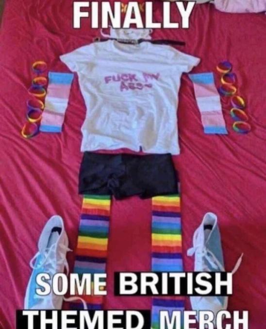 Fuck brits - meme