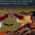 Think Goku, think