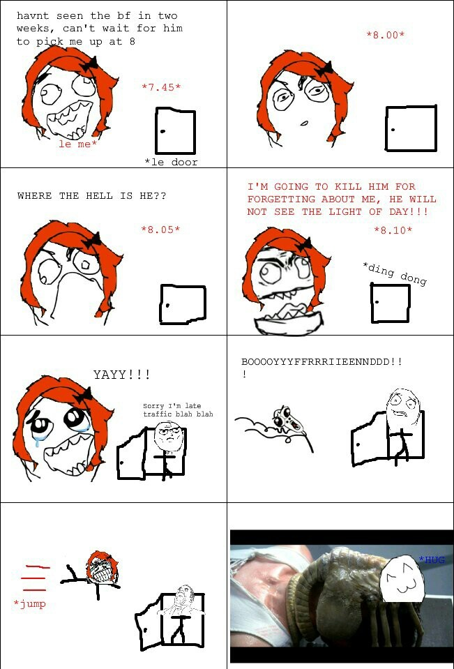 A very old rage comic, but one of my favorites. - meme