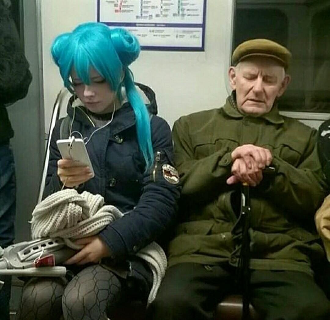 Cuando las generaciones chocan - meme