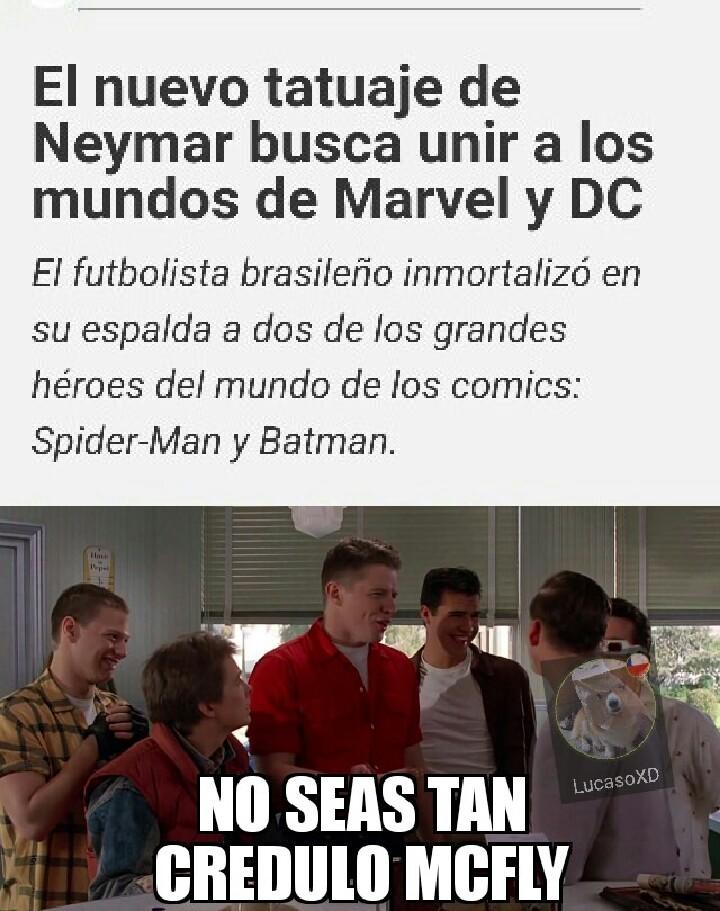 Este neymar sigueme y te sigo - meme