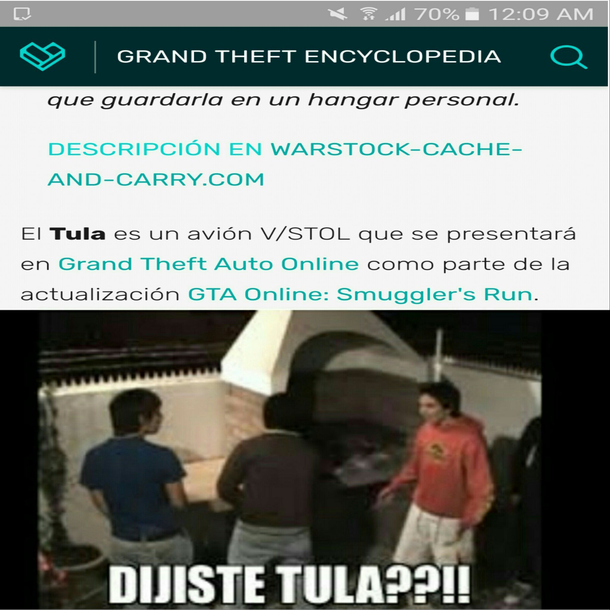 Tula - meme