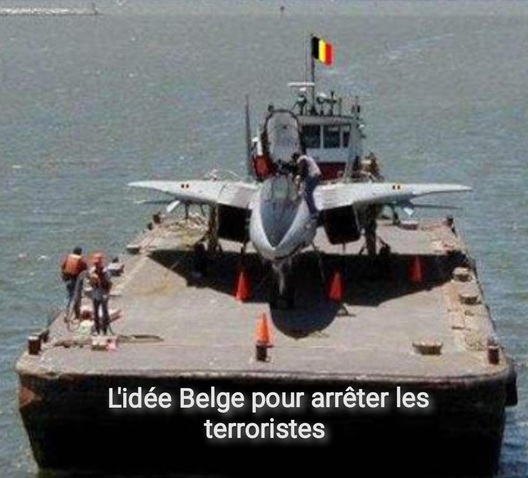 Trop drôles ces belges - meme