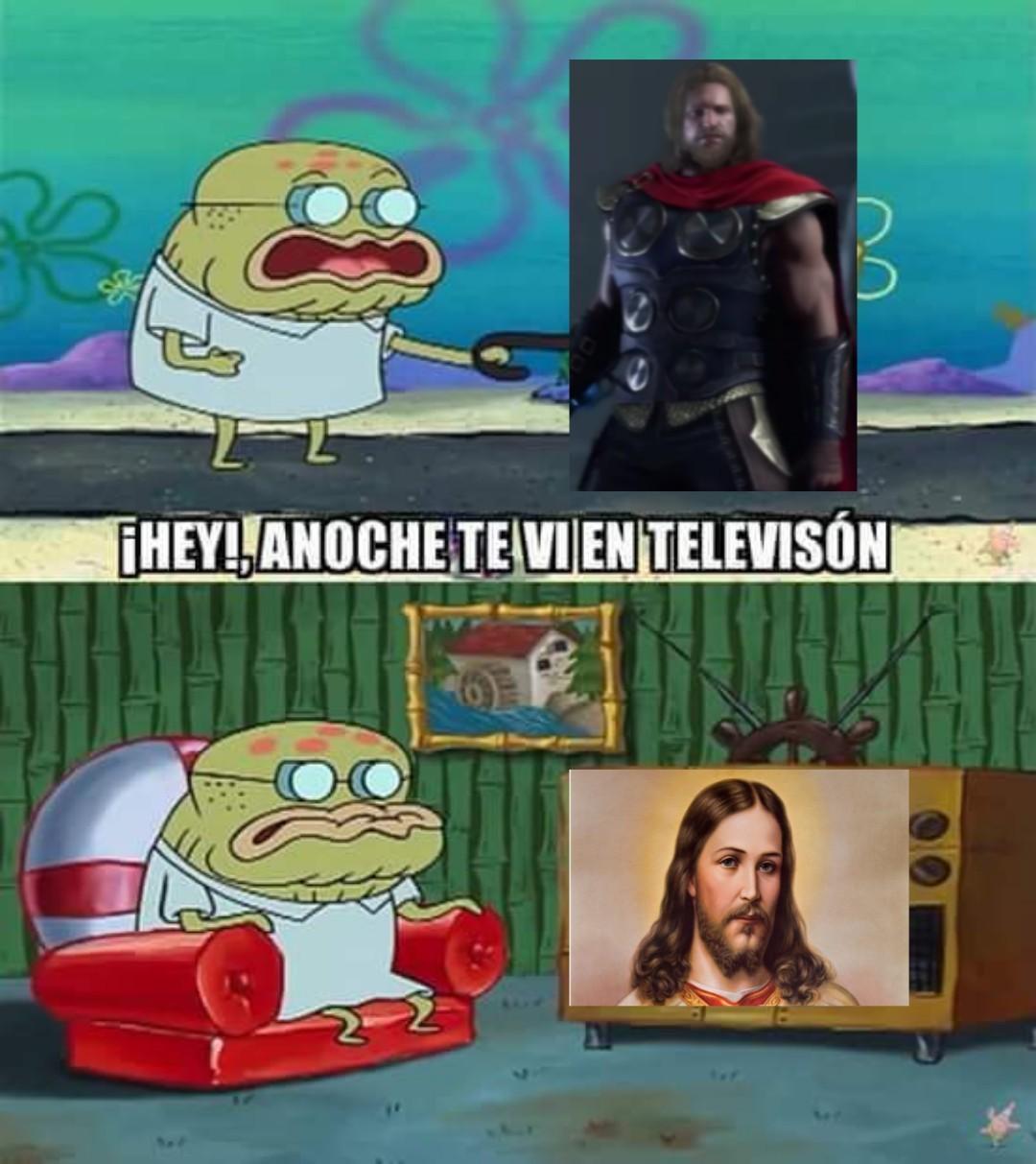Jesucristhor - meme