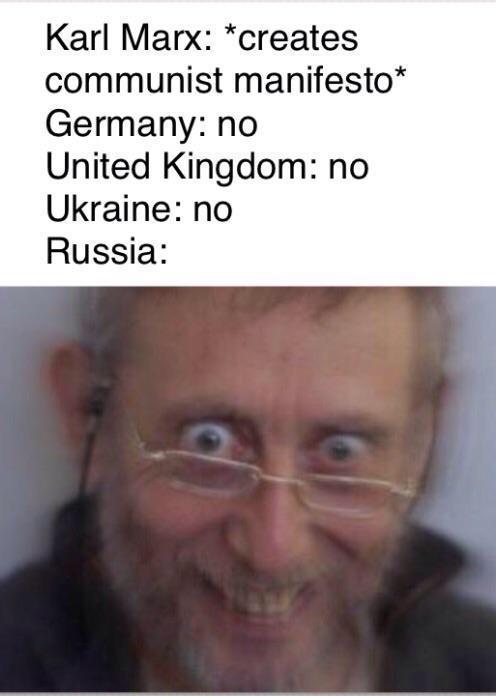Commie bastards - meme