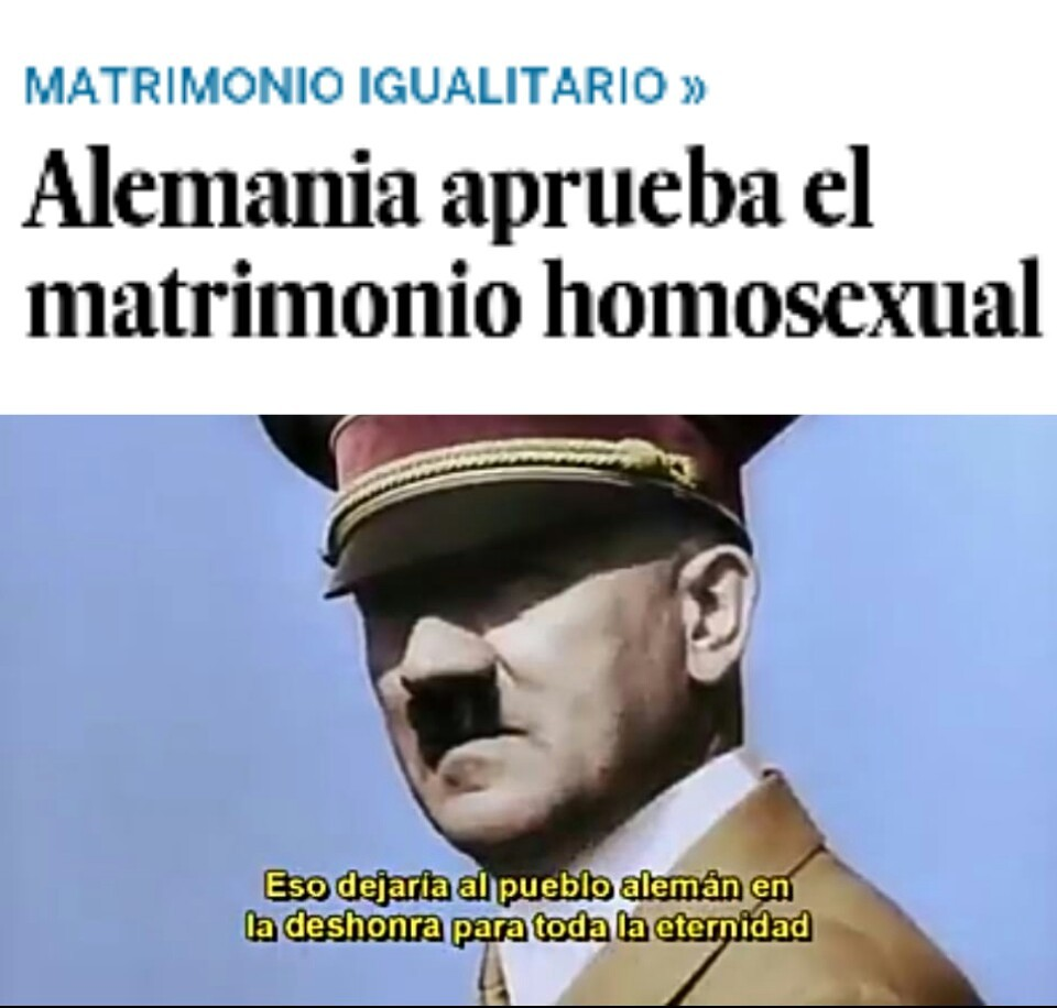 Gay = enfermedad psicológica - meme
