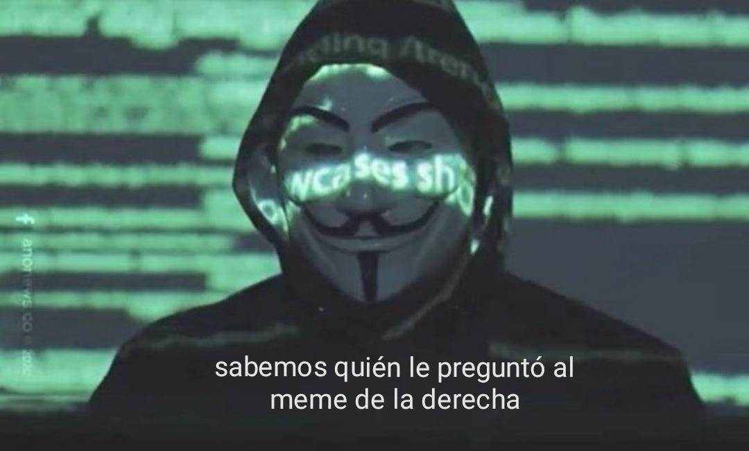 Un kpo el anonymous - meme