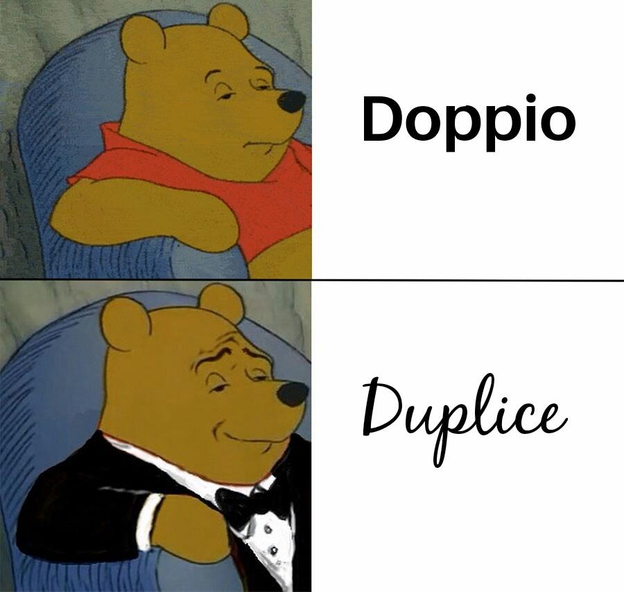 Vale anche triplice - meme