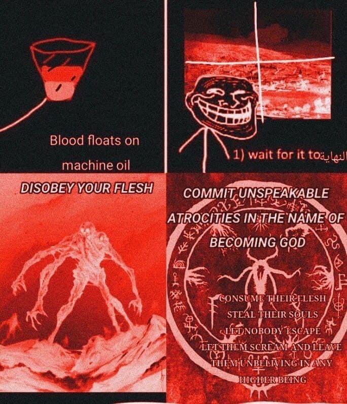 Becoming god - meme